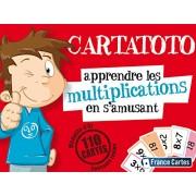 """France Cartes 410012 - Gioco di carte """"Carta toto"""", per le moltiplicazioni"""
