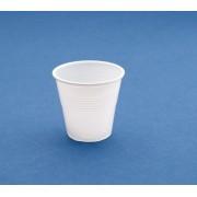 Vaso de plástico desechable de 80 cc blanco 4200ud