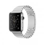 Apple Watch Series 2 con caja de acero inoxidable de 42 mm y correa de eslabones