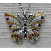 ketting vlinder hanger 0192