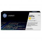 HP 651A Yellow LaserJet Toner Cartridge (CE342A)