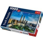 Trefl Petronas Twin Towers Malaysia Jigsaw Puzzle (2000 Piece) by Modello