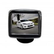 """Mini monitor retromarcia auto camper videosorveglianza LCD 3,5"""", cavo 5 metri"""