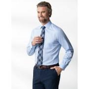 Walbusch Business-Hemd Naturstretch Blau 44