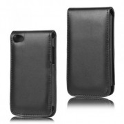 Leather case iPod Touch inclusief screenprotector