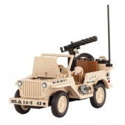 Jeep Willys MB cu mitraliera - Cobi