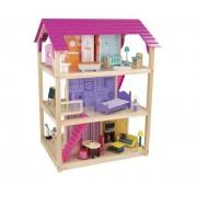So Chic Dollhouse w/ 50 pc furniture - dimension (cm) : 87 x 76 x 118