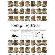Vintage Christmas: Gift & Creative Paper Book: Vol. 22 by Pepin Van Roojen