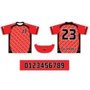 FLOORBEE Uniform RN XXXL červená / černá
