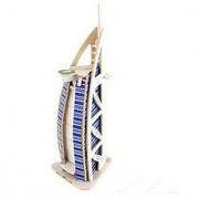 Gadfly- 3d Jigsaw Woodcraft Kit Wooden Puzzle.(Burj Al Arab Hotel)