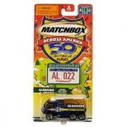 Matchbox Across America 50Th Birthday Series Alabama Airport Fire Pumper Rocket Recovery Truck