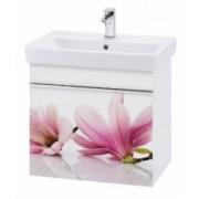 Závesná skrinka VISION 600 orchidea, vrátane umývadla