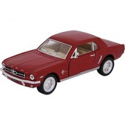 Baby Steps Kinsmart Die-Cast Metal 1964 1/2 Ford Mustang (Red)