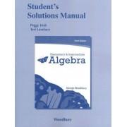 Student Solutions Manual for Elementary & Intermediate Algebra by George Woodbury