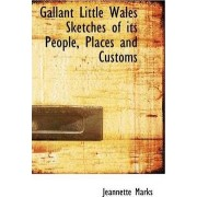 Gallant Little Wales Sketches of Its People, Places and Customs by Jeannette Marks