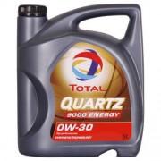 Total QUARTZ 9000 ENERGY 0W-30 5 Litres Jerrycans