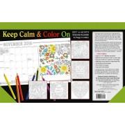 Cal 2017-Keep Calm & Color on