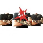 Akce - 5+1 zdarma Tetovací rukávy