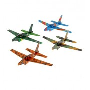 "Plane Gliders (12 Pack) 6 1/2"". Fighter Glider."