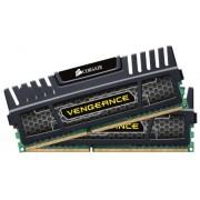Corsair CMZ16GX3M2A1600C10 Vengeance Memoria per Desktop a Elevate Prestazioni da 16 GB (2x8 GB), DDR3, 1600 MHz, CL10, con Supporto XMP, Nero