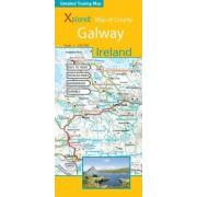 Wandelkaart - Fietskaart Galway (Ierland) | Xploreit Maps