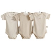 Natures Purest BKF6019S - Set Regalo 3 Bodies 0-3 Meses Hug me Bear