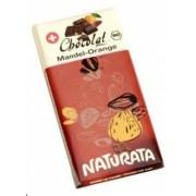 Ciocolata bio cu migdale si portocale