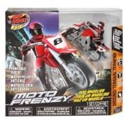 Air Hogs XS Motors Red Moto Frenzy Stunt Bike Ch A