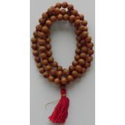Japa Mala - White Rosary - 8 mm