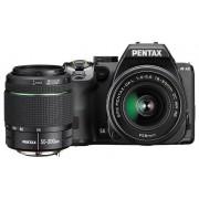 Pentax K-S2 kit (HD 18-50mm WR + 50-200mm WR) (negru)