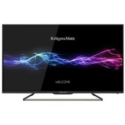 "Televizor LED Kruger&Matz 80 cm (32"") KM0232FHD, Full HD, CI + Lantisor placat cu aur si argint + Cartela SIM Orange PrePay, 6 euro credit, 4 GB internet 4G, 2,000 minute nationale si internationale fix sau SMS nationale din care 300 minute/SMS internatio"
