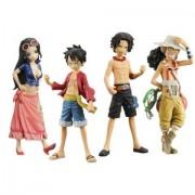 Bandai Tamashii Nations One Piece Half Age Toy Figures, Set of 8, Volume #1 (japan import)