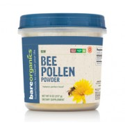 BareOrganics BEE POLLEN POWDER (Raw) (8oz) 225g