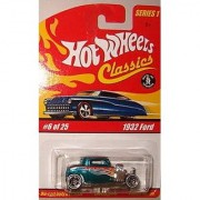 Hot Wheels Classic Series 1: 1932 Ford #6 of 25 1:64 Scale Collectible Die Cast Car with a Special Spectraflame Paint