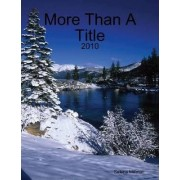 More Than a Title by Selena Millman