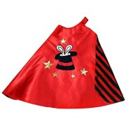 Storybook Wishes 99817 Making Believe Reversible Red and Black Top Hat Magician Cape
