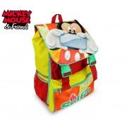 MK16101 Zaino a spalla estensibile scuola Mickey Mouse 41x28,5x20 cm