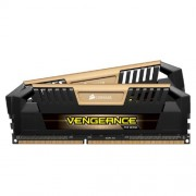 Corsair CMY16GX3M2A2400C11A Vengeance Pro High Performance Kit di Memoria da 16 GB (2x8 GB), DDR3, 2400 MHz, XMP, Nero/Oro