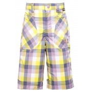 Jack Wolfskin Cube - Short Enfant - jaune/violet 104 Shorts