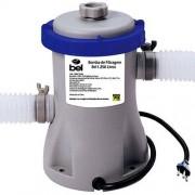 Bomba Filtrante Piscina Bel Life 220V com Filtro 1250 Litros hora mod 1145 para piscinas Mor, Capri, Intex estrutural ou piscina Inflável