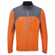 RonHill Men's Vizion Windlite Jacket - Orange/Granite - L