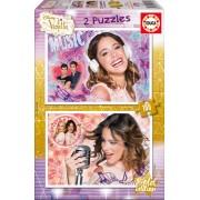 EDUCA 16189 Puzzle cardboard Violetta Ediţie Aurie 2x100 bucăţi