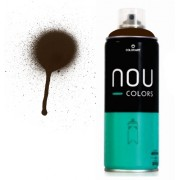 Spray Nou Colors 400ml Marrom Tabaco