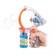 Deluxe Handheld Bubble Blower w/ LED Lights