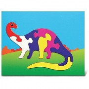 Puzzled Apatosaurus Wooden Toys Fun Puzzle (7 Piece)