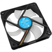 Ventilator Cooltek SILENT FAN 120 PWM PWM, 120 mm, 700 rpm, 1500 rpm, 66.4 CFM