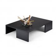 Mobilifiver Tavolino da salotto, Rachele, Frassino Nero