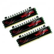 Memorie G.Skill Ripjaws 12GB (3x4GB) DDR3, 1333MHz, PC3-10666, CL7, Triple Channel Kit, F3-10666CL7T-12GBRH