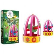 Jumboo 3D DIY Art and Craft Set For Kids-Birdie Cage