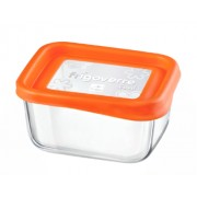 Posuda staklena FRIGOVERRE Fun 13×10cm narandžasta 335170N – Bormioli Rocco